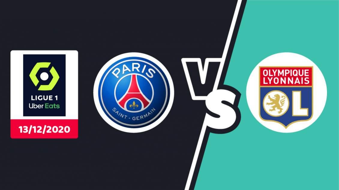Pronostic PSG Lyon Ligue 1 Dimanche 13 décembre 2020