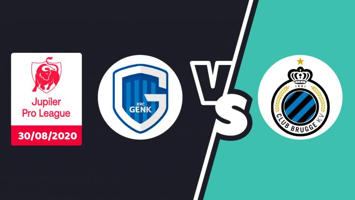 Pronostic Racing Genk Club Bruges 30 août 2020 4ème journée Jupiler Pro League
