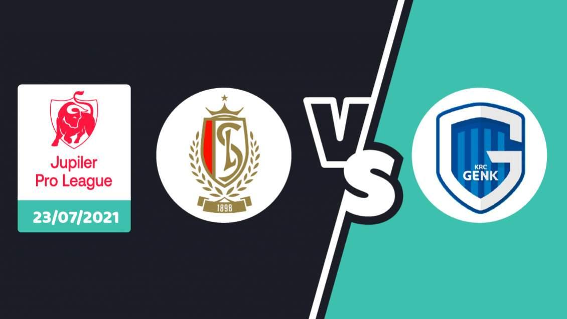 pronostic Standard Liège Racing Genk Jupiler Pro League 2021/2022