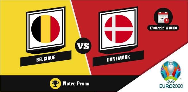 Pronostic Belgique Danemark Jeudi 17 Juin 2021