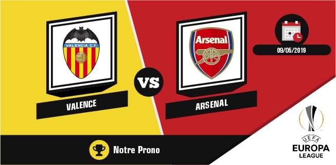 Pronostic Chelsea Arsenal mercredi 29 mai 2019 finale Europa League
