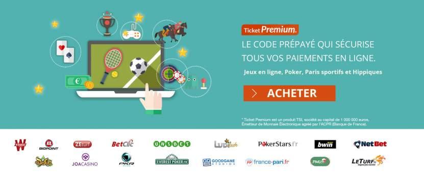 Ticket Premium en Belgique